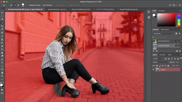 Adobe ใช้ AI พัฒนาเครื่องมือ<br> Select Subject เลือกเฉพาะ<br> วัตถุใดๆ ในภาพได้ง่ายๆ