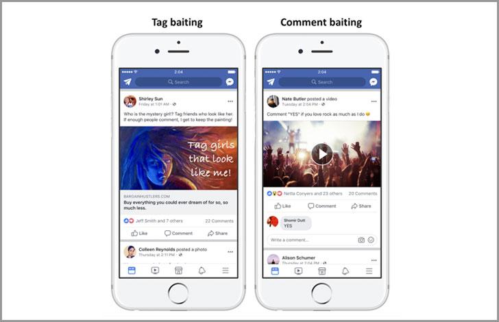 Facebook เตรียมลด Reach โพสต์ <br>ดักเรียกคนกดLike กด Share รับปี 2018