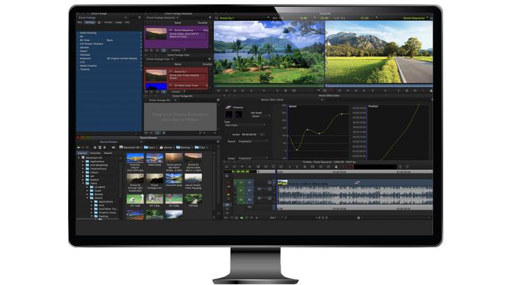 Media Composer First โปรแกรม <br> ตัดต่อวีดีโอระดับมืออาชีพ ที่ผู้พัฒนาแจกฟรี
